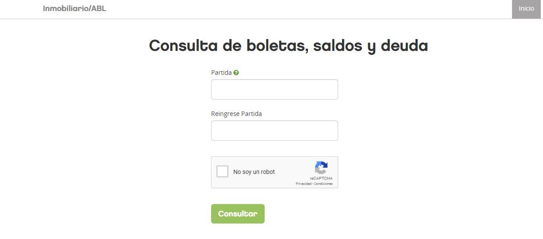 Consultar ABL