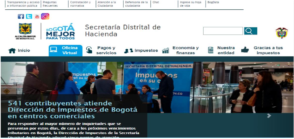 ¿Cómo Bajar Formulario Impuesto Vehículo Bogotá?