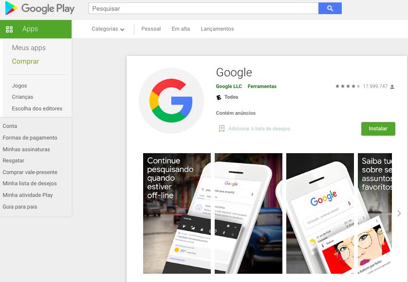 Aplicativo Para Saber O Nome Da Música Pelo Android Fonte: Google Play