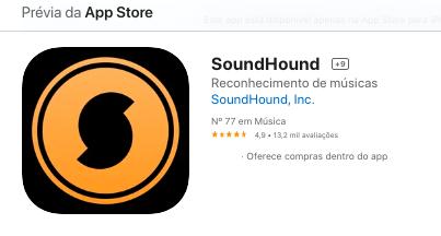 Aplicativo Para iPhone Para Descobrir Nome De Músicas Fonte: App Store
