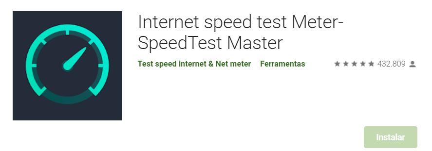 Aplicativo Android De Ver A Velocidade Da Internet Fonte: Google Play