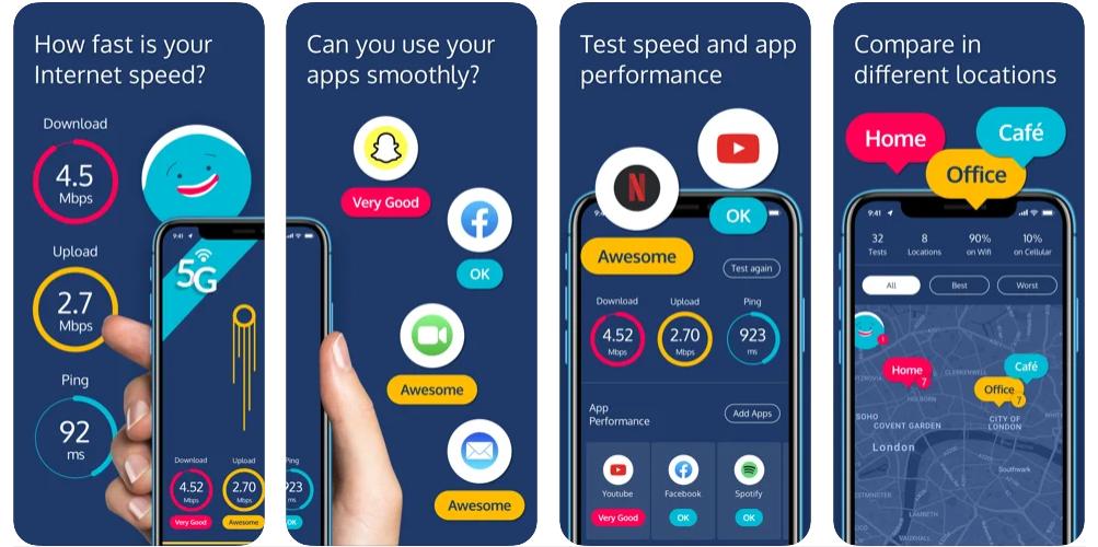 Qual Aplicativo iOS Para Ver A Velocidade Da Internet Pelo iPhone?