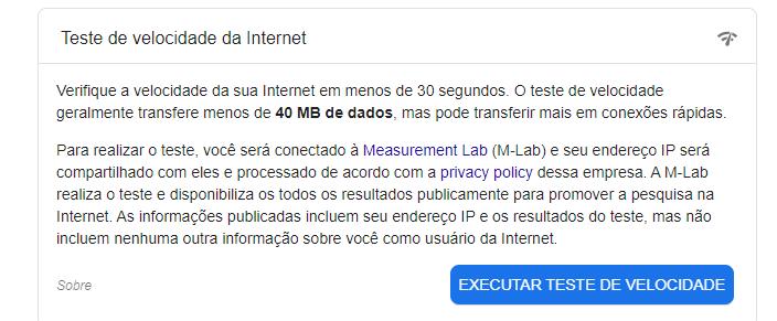 Programa Para Ver A Velocidade Da Internet Pelo Computador/ Fonte: Captura de Tela Do Site Oficial