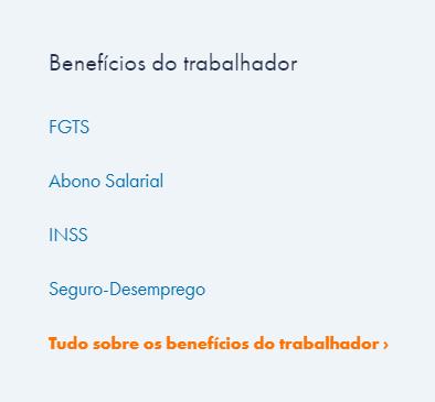 Aplicativo Para Saber O Saldo Do Segundo Seguro Desemprego Pelo PC / Fonte: Captura de Tela do Site Oficial