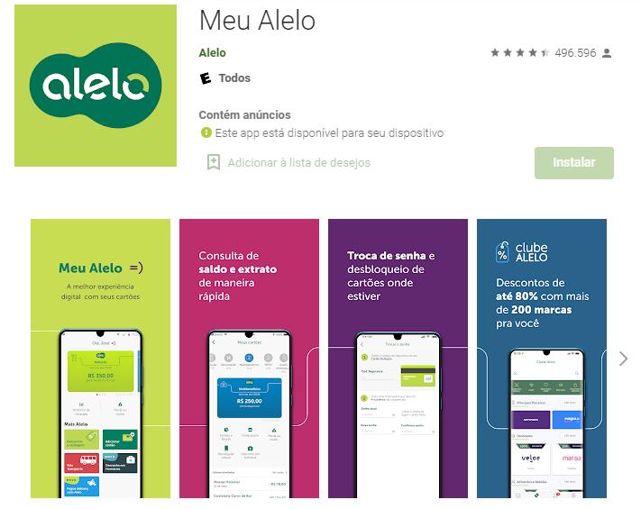 Como Consultar Saldo Alelo No AndroidFonte: Google Play