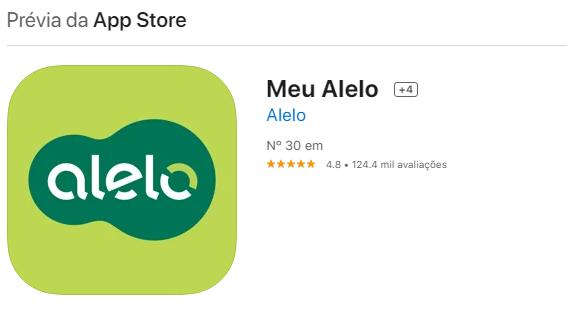 Como Consultar Saldo Alelo No iPhoneFonte: App Store