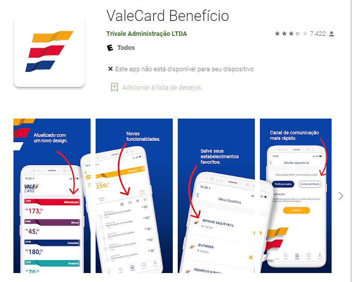 Como Ver O Saldo Do Valecard Pelo Aplicativo No AndroidFonte: Google Play