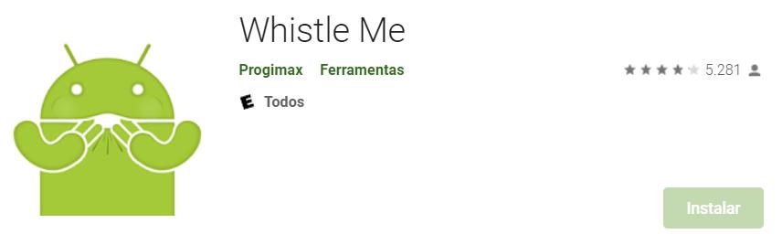 App Para Android Para Localizar Pessoas (Fonte: Play Store)