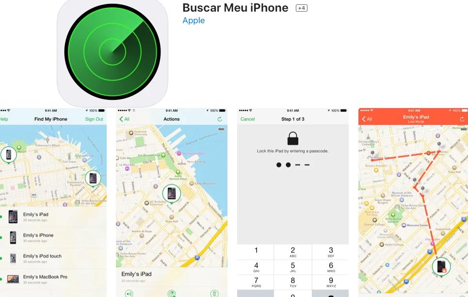 Aplicativo Para Encontrar Pessoas Para iPhone ( Fonte: App Store)