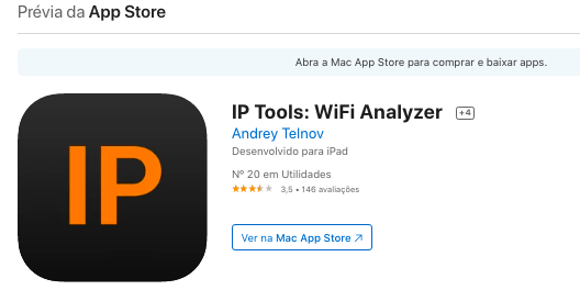 Aplicativo iOS Para Ver Quem Está Usando Seu Wi-Fi Fonte: App Store
