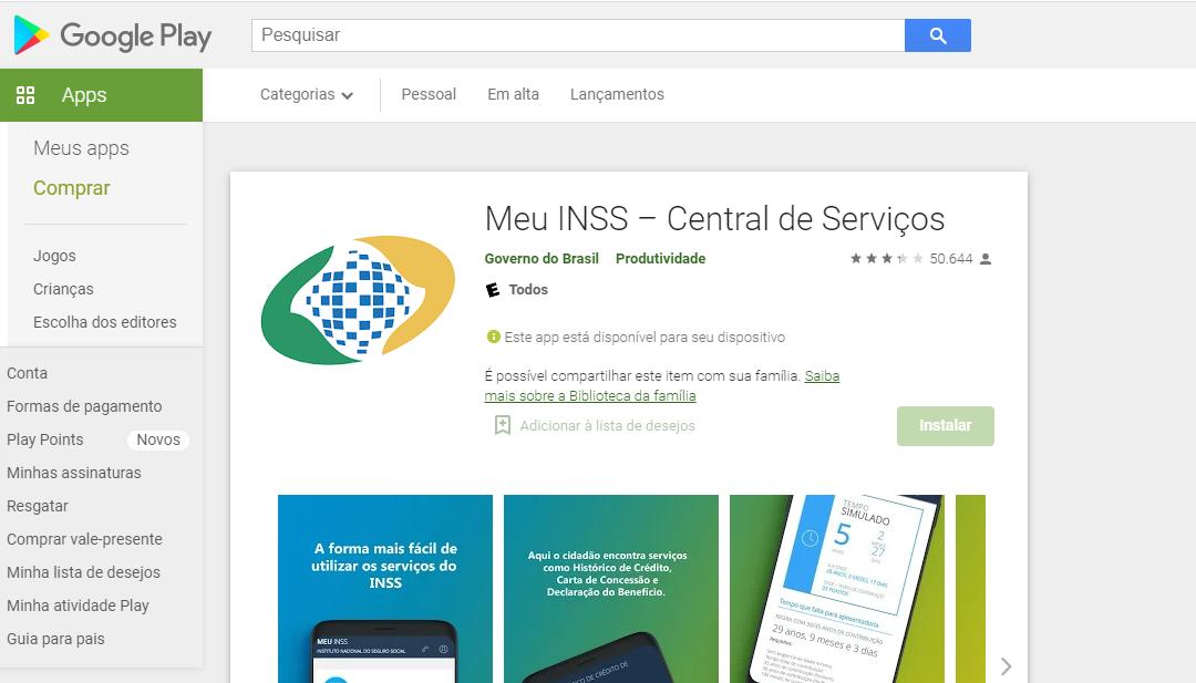 App Para Consultar Aposentadoria No AndroidFonte: Google Play